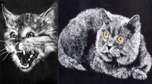 Картины из тополиного пуха (28 работ)