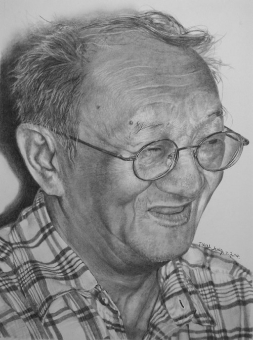Рисунки простым карандашом от Paul Lung (117 работ)
