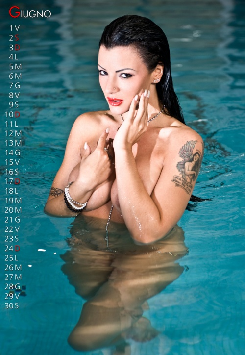 Amandha Fox - Official Calendar 2012 (16 фото) (эротика)