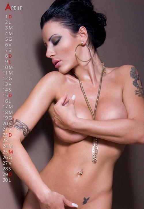 Amandha Fox - Official Calendar 2012 (16 фото) (эротика)