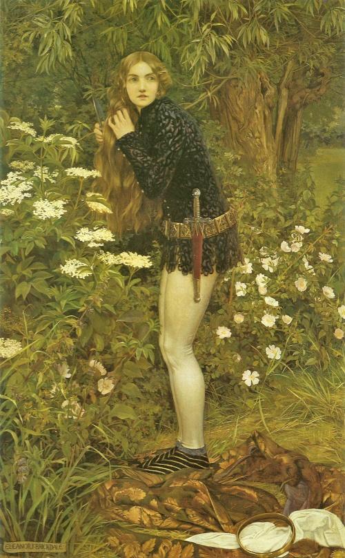 Британская художница-иллюстратор Eleanor Fortescue-Brickdale (1871-1945) (129 работ)