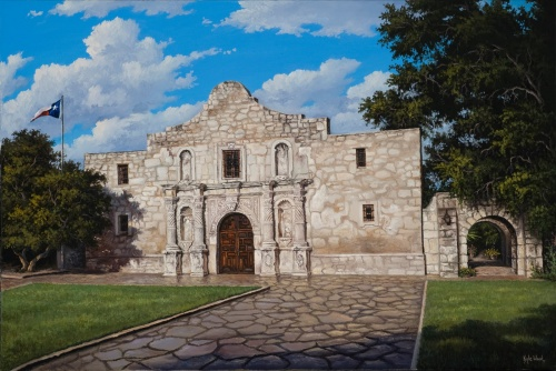 Художник из Техаса Kyle Wood (35 работ)