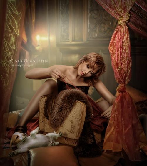 Фантазии фотохудожницы Синди Грундстен (Швеция) (309 фото)