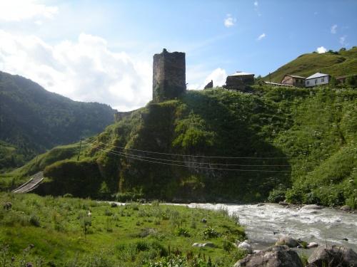 Фото экскурсия - Грузия, Сванети (55 фото) (2 часть)
