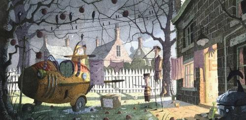 Stephen Hanson. Digital illustration (32 работ)