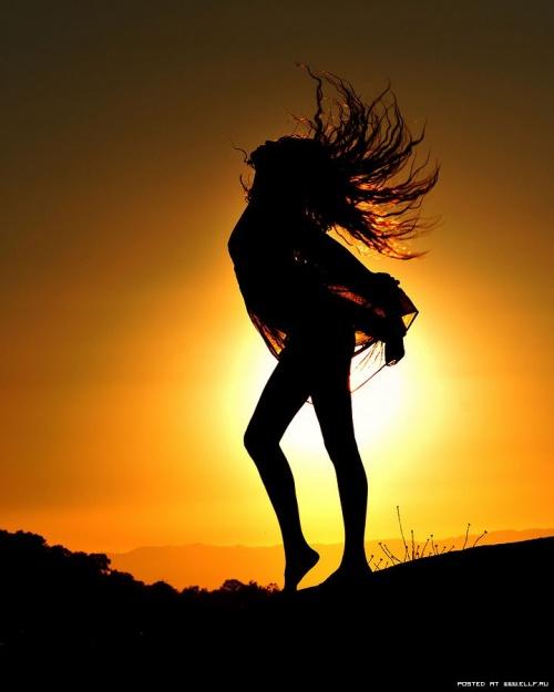 Красивые силуэты на закате Ти Джей Скотта (62 фото)
