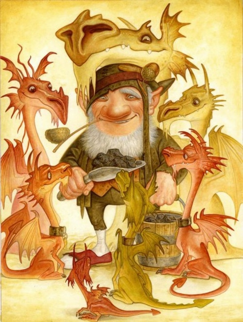 Иллюстратор Paul Kidby (47 работ)
