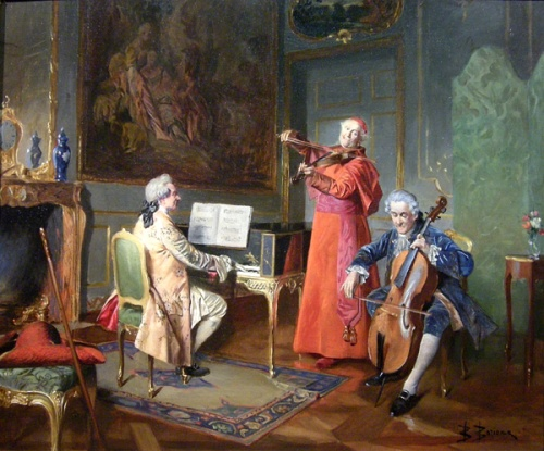Французский художник Bernard Louis Borione (1865 – 1920) (42 работ)