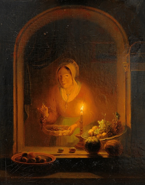 Бельгийский живописец Petrus van Schendel (1806-1870) (111 работ)
