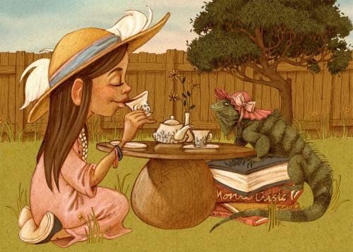 Иллюстратор Laura Dollie (22 работ)