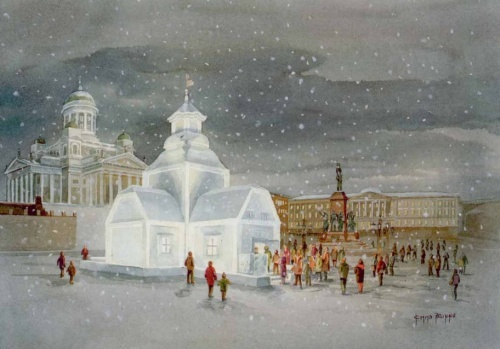 Художник KIMMO PALIKKO (11 работ)