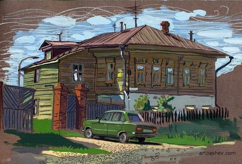 Художник иллюстратор Башмаков Евгений (65 работ)