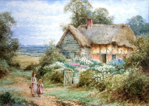 Деревенские пейзажи Henry John Sylvester Stannard (34 работ)
