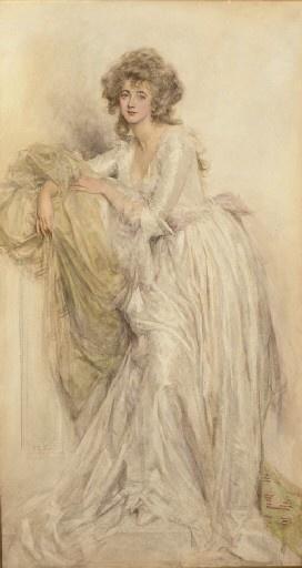Английский художник Mary Louisa Gow (1851-1929) (20 работ)