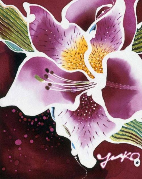Yuko Nakata. Индонезийския батик (35 работ)
