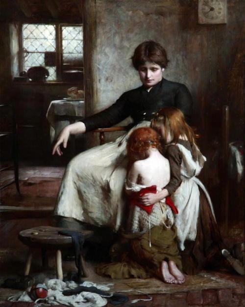 Английский художник Arthur Hacker (1858-1919) (97 работ)