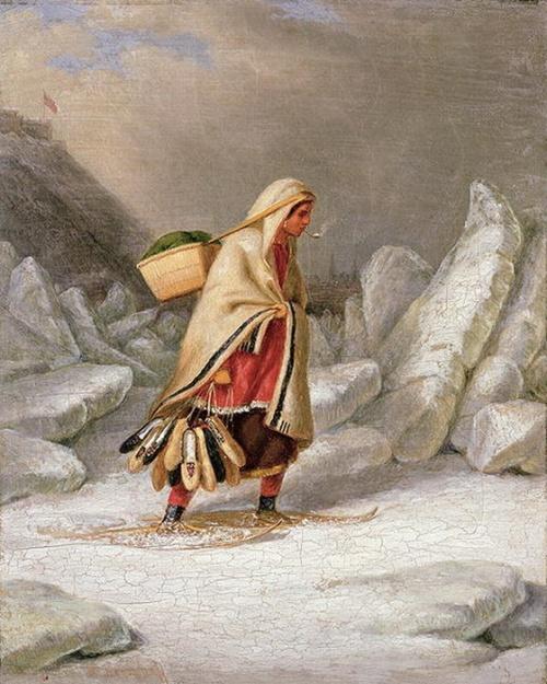 Художник Cornelius Krieghoff (32 работ)