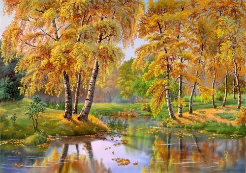 Пейзажи от Виктора Циганова (12 работ)