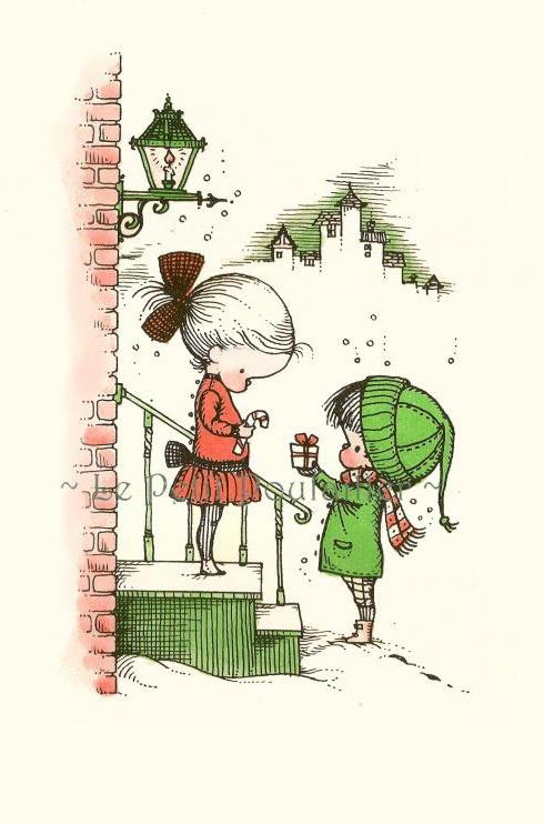 Иллюстратор Joan Walsh Anglund (92 работ) (2 часть)