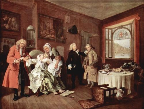 Уильям Хогарт | XVIIIe | William Hogarth (287 работ)