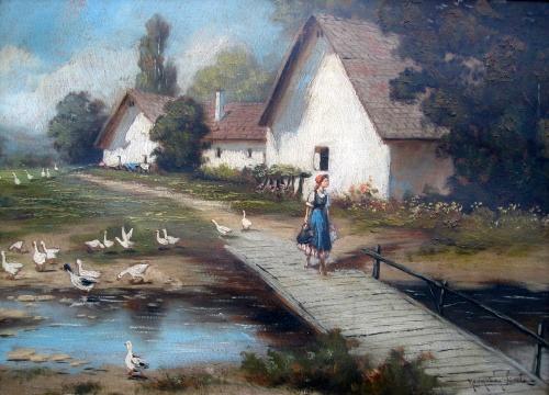 Венгерский художник Laszlo Neogrady (1896-1962) (19 работ)