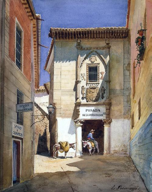 Акварельные шедевры Luigi Premazzi (100 работ)