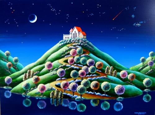 Неземные пейзажи Andy Russell (69 работ)