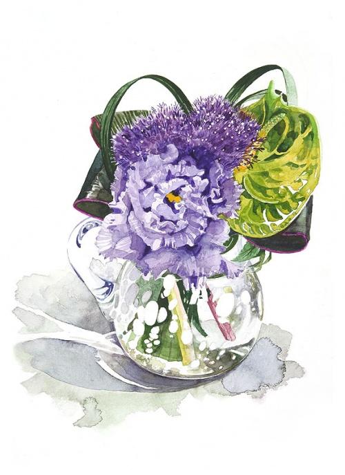 Японский художник Ayako Tsuge (136 работ)