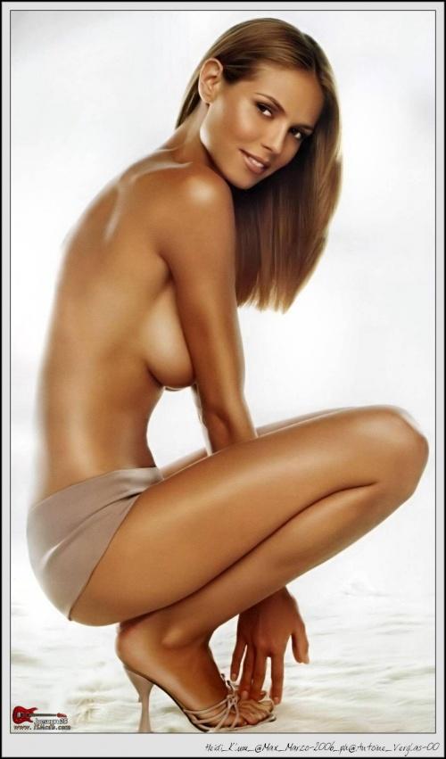 Heidi klum amal sex