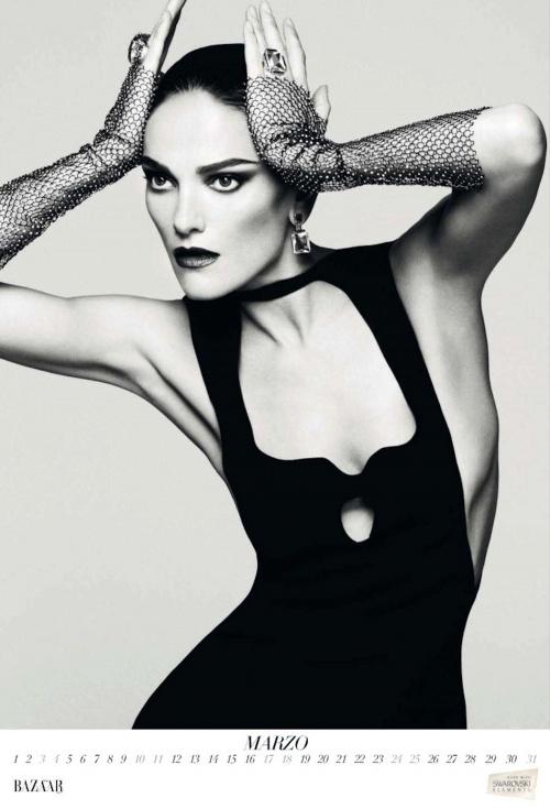 Harper's Bazaar Spain Calendar 2012 (13 фото)
