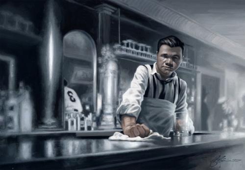 Иллюстратор James Bennett (81 работ)