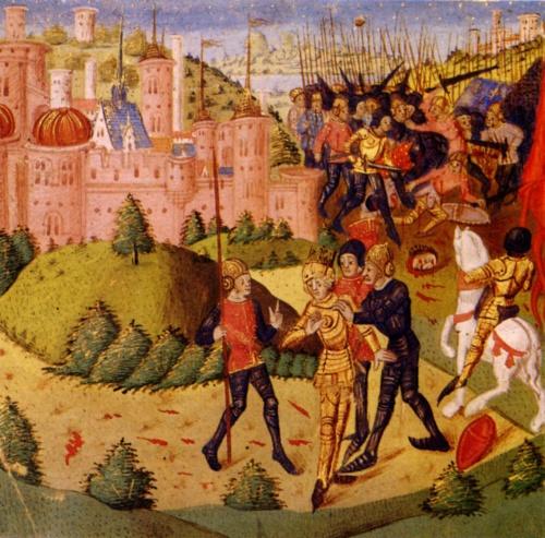 Столетняя война | XIV-XVe | La Guerre de Cent Ans (100 работ) (1 часть)