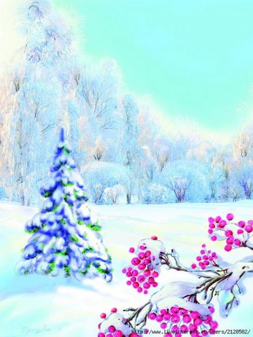 New Year postcards illustrators Drozdov (63 открыток)