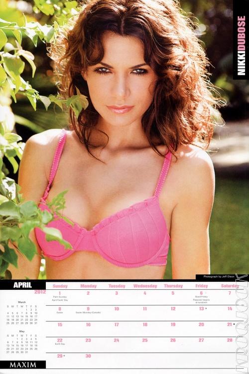 Maxim. Calendar 2012 (14 фото)