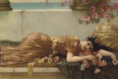 Художник Emile Eisman-Semenowsky (1857-1911) (104 работ)