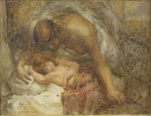 Английский художник Henry John Stock (1853-1930) (28 работ)