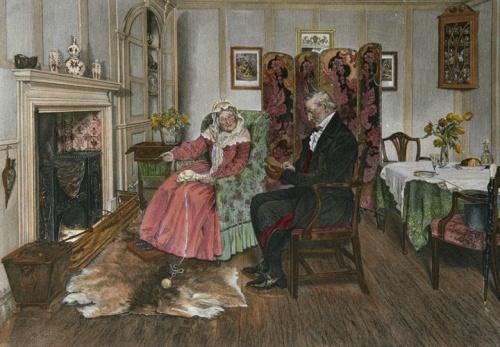 Английский художник Walter Dendy Sadler (1854-1923) (122 работ)